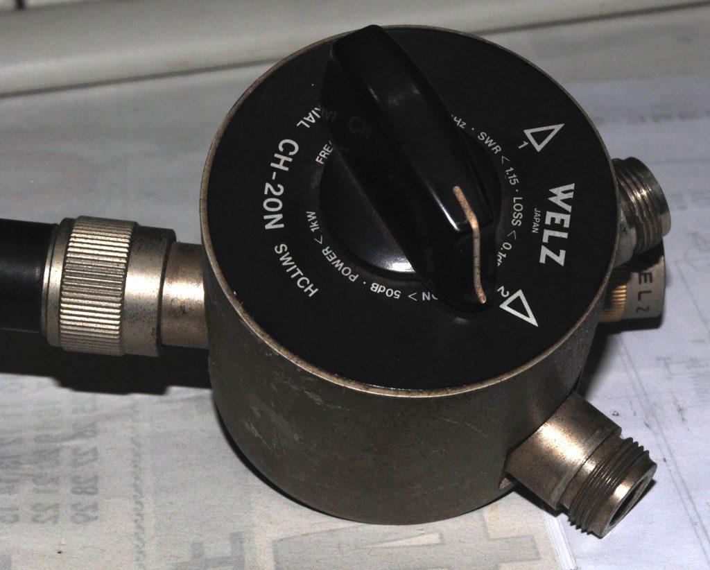 アンテナ切り替え器
