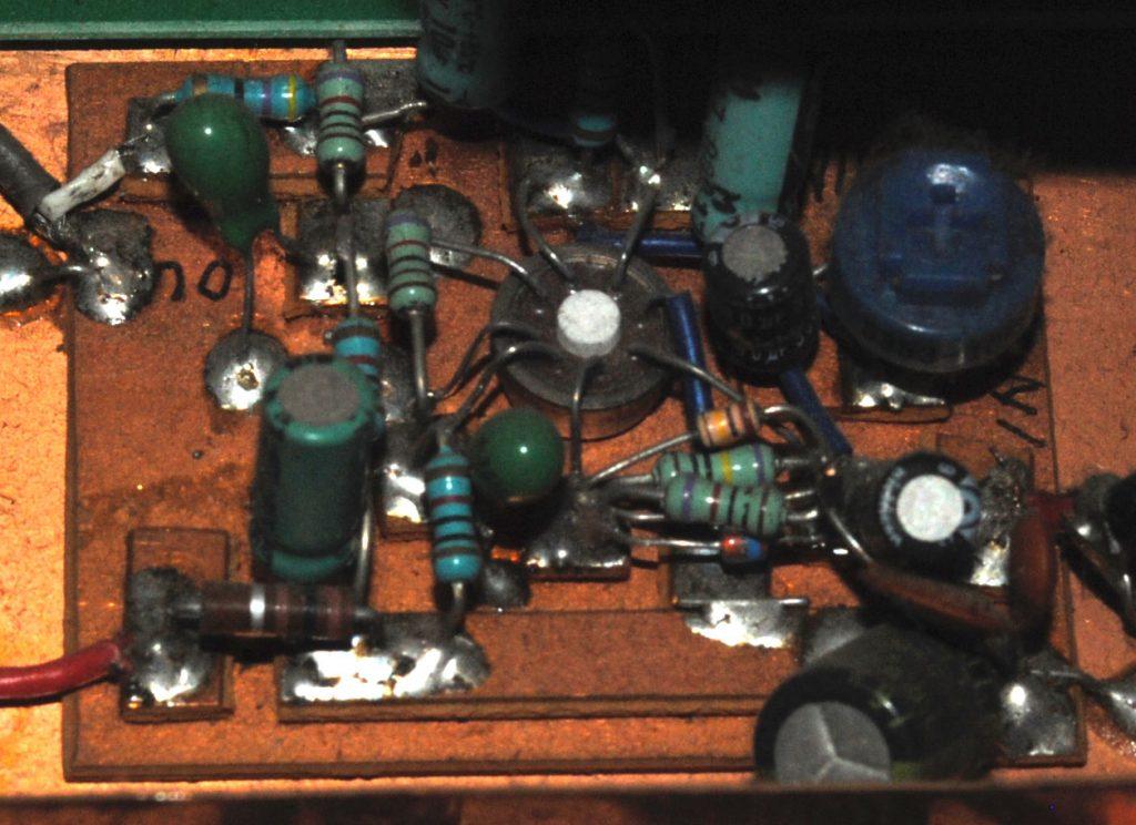マイクアンプ回路基板