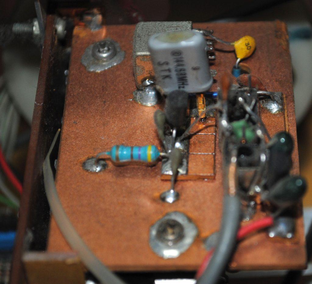 PLL用ヘテロダインVXO回路図